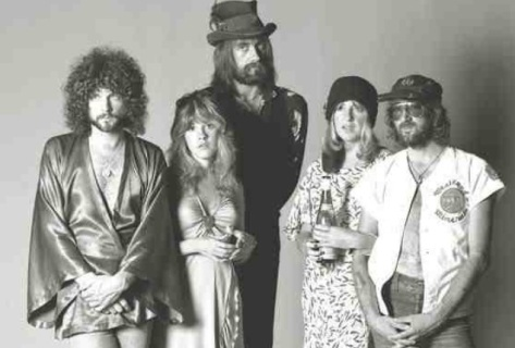 Lindsey Buckingham, Stevie Nicks, Mick Fleetwood, Christine McVie, John McVie